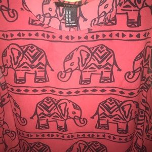 Forever 21 Dresses - Elephant dress!
